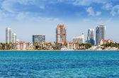Miami south beachh, Florise, USA — Stock Photo