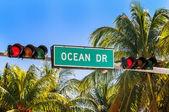Miami beach, Floride, USA — Stock Photo