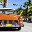 Classic American Car on South Beach, Miami. — Stock Photo #41805861