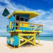 Plavčík věž, miami beach, florida — Stock fotografie