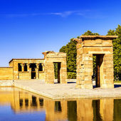 Temple of Debod Madrid — Stock Photo