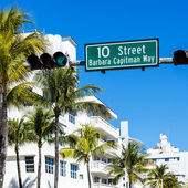 Miami beach, Floride, USA — Stock Photo