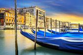Grand canal à venise, italie — Photo