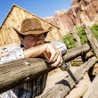 Cow boy spirit — Stock Photo #44158827