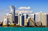 Miami downtown skyline — Stockfoto