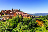 Roussillon village — Stock Photo