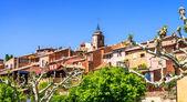 Roussillon village — Stock Photo