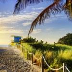 Lifeguard Tower, Miami Beach, Florida — Stock Photo #51589693