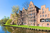 Architecture in Lubeck, Germany. — Stock Photo