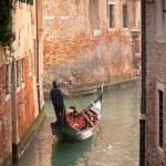 gondel in Venetië — Stockfoto #12686285