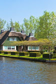 Traditional Dutch houses — Stock Photo