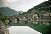 Ponte Della Maddalena, Italy — Stock Photo