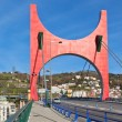 Princes of Spain Bridge in Bilbao — Stock Photo