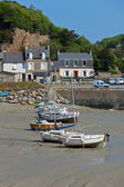 Ebb Landscape in Western Brittany — Stock Photo