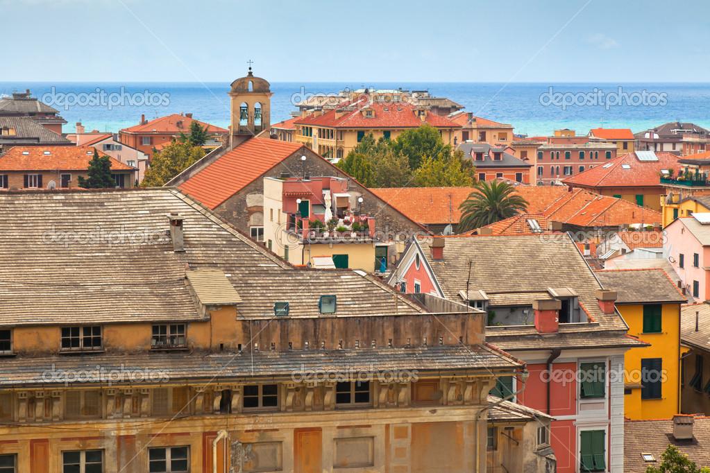 City Centre of Chiavari, Italy � Stock Photo � dvoevnore #14400421