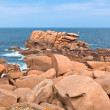 Cote de Granit Rose, Brittany, France — Stock Photo