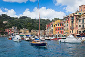 Portofino bay view — Stockfoto