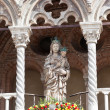 Cathedral Detail at Ferrara, Italy — Stock Photo #14595571