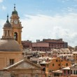Genoa, Italy view - Stock Photo