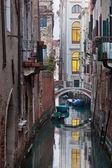 Bridge in Venice — Stockfoto