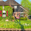 Traditional Dutch house — Stock Photo