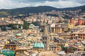 City Center of Genoa, Italy — Foto de Stock