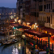 Grand Canal at Night, Venice. — Stock Photo #14925283