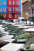 Line of Cars — Stock Photo