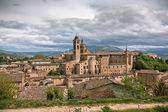 Old Urbino, Italy, Cityscape at Dull Day — Stock Photo