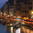 Grand Canal at Night, Venice. — Stock Photo #15381737