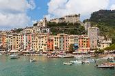 Portovenere Bay, Italy View — Stock Photo