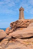Latarnia morska ruz mężczyzn w brittany, francja — Zdjęcie stockowe
