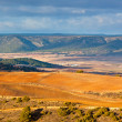 Castilla-La Mancha, Spain at winter - Stock Photo
