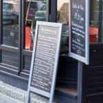 Cafe Blackboards — Stock Photo #15702443