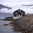 Black Wooden House in East Iceland — Stock Photo #15853239