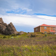 Rocks and House in East Iceland — Stock Photo #16199049