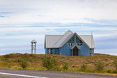 Rural House in East Iceland — Stock Photo