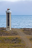 Lighthouse in East Iceland — Стоковое фото