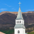 Iceland Church — Stock Photo