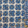 Azulejo - Old Tile Background — Stock Photo #17501075