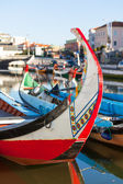 Aveiro gondola detail — Stock Photo