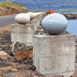 Stock Photo: Stone Eggs of Merry Bay, Djupivogur, Iceland