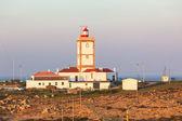 Cape Carvoeiro lighthouse in Peniche, Portugal — Stock Photo