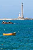 Phare de l'Ile Vierge - Lighthouse in Brittany — Stock Photo