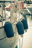 Sailboat Side Buoys — Stock Photo