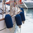 Sailboat Side Buoys — Stock Photo