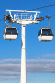 Cable car in Lisbon, Portugal — Stock Photo