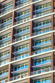Flervånings lägenheter hus — Stockfoto