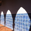 Arch Shadow at Azulejo Wall — Stock Photo #21519661