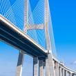 Vasco da Gama Bridge (Ponte Vasco da Gama), Lisbon — Stock Photo